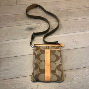 Coach Vachetta Swingpack Crossbody